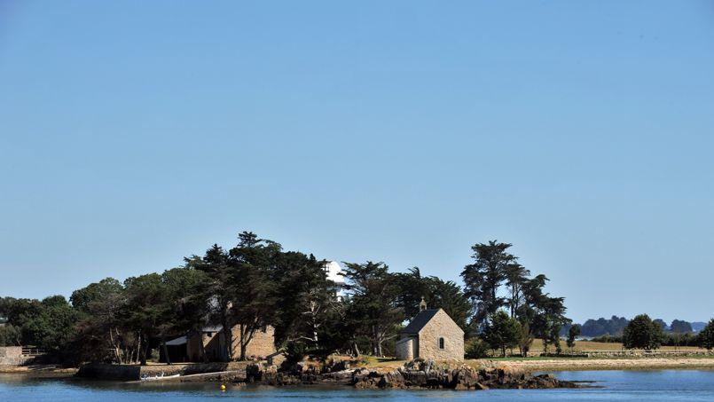 L'île de Boëdic, dans le Morbihan.