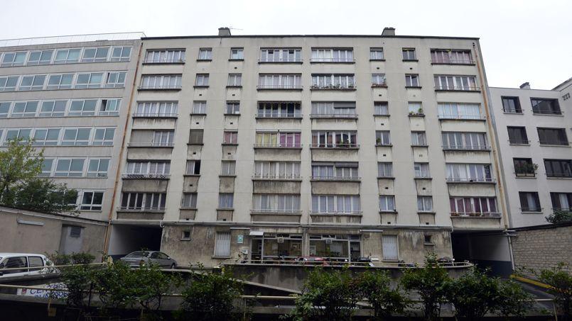 Une habitation HLM à Neuilly-sur-Seine.