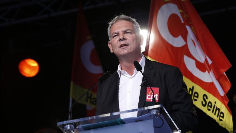 Thierry Lepaon brigue d'ores et déjà un second mandat à la tête de la CGT.