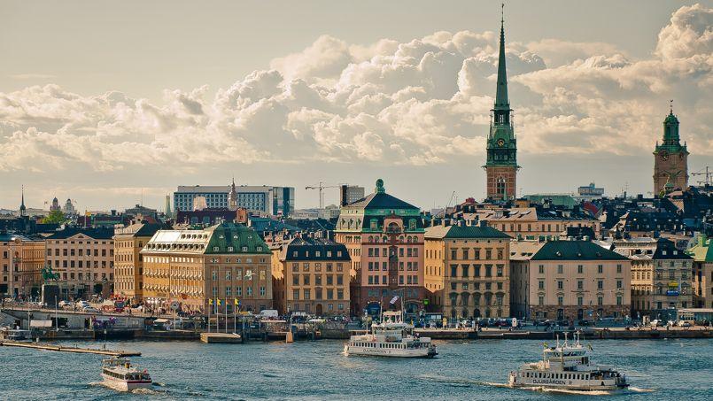 La ville de Stockholm, en Suède. Crédit: Flickr @ - Abhimanyu.