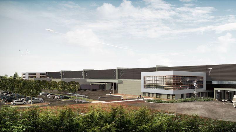 Barjane développe son premier clés-en-main en Ile-de-France, à Val d'Europe-Marne-la-Vallée, destiné au groupe Auchan.