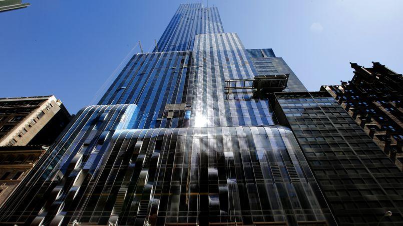Un duplex occupant la totalité des 89e et 90e étage de la tour One57, à Manhattan, vient de se vendre pour 100,5 millions de dollars Crédit: M. Segar/Reuters