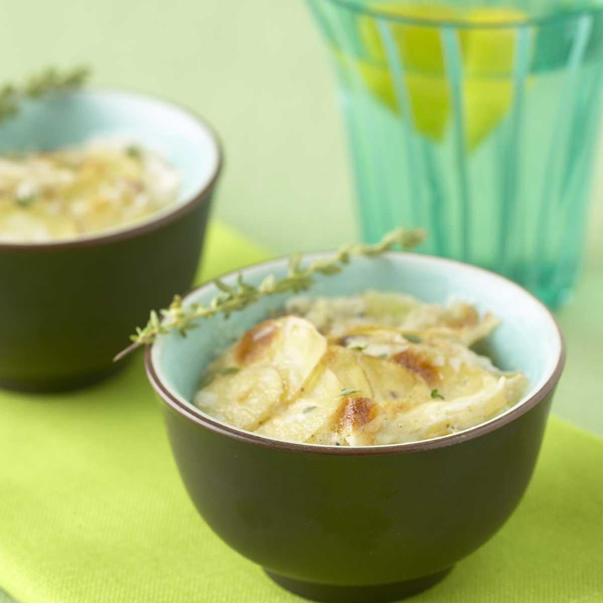 Recette Gratin De Pommes De Terre Au Thym Citronne Cuisine