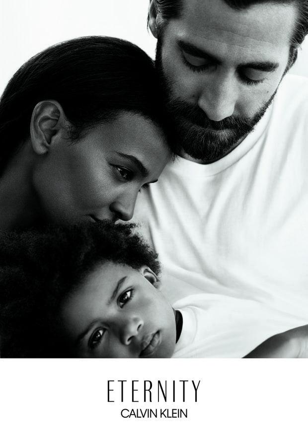 Jake Gyllenhaal Et Liya Kebede La Famille Idéale Selon Calvin Klein