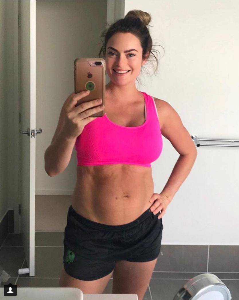 0b96ec464aa Une coach fitness dévoile une photo non retouchée de son corps post ...