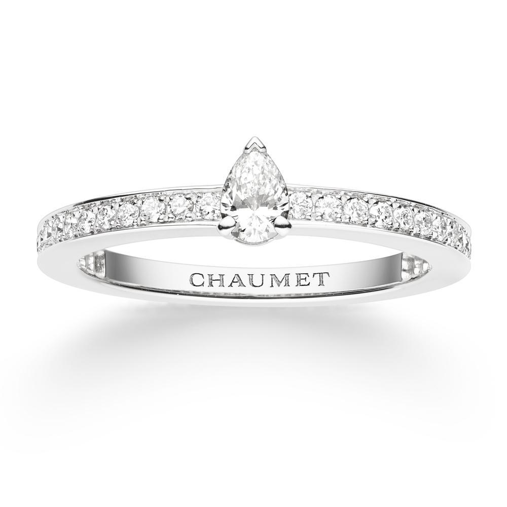 bague diamant or blanc chaumet
