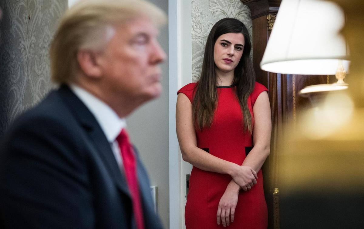 Madeleine Westerhout, l'ex-assistante de Donald Trump qui en a trop dit sur les filles du président
