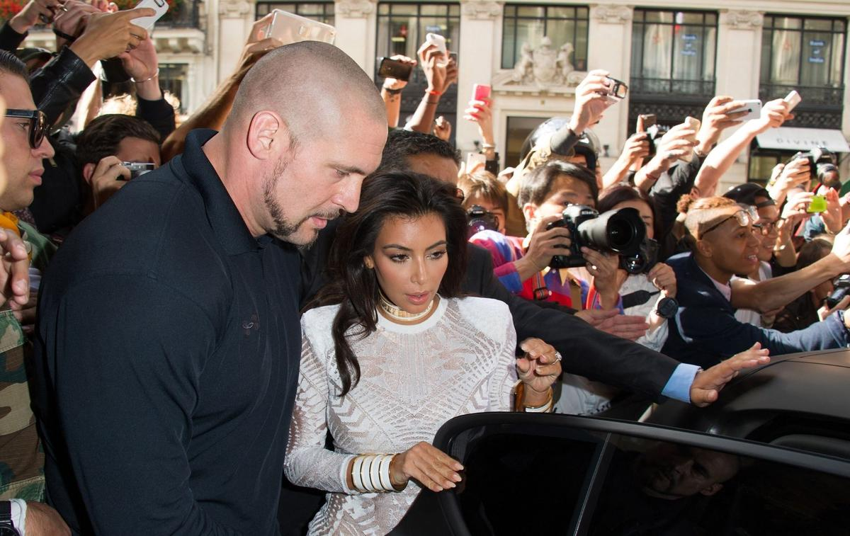 Kim Kardashian, son ancien garde du corps et l'accord à 5 millions d'euros - Madame Figaro