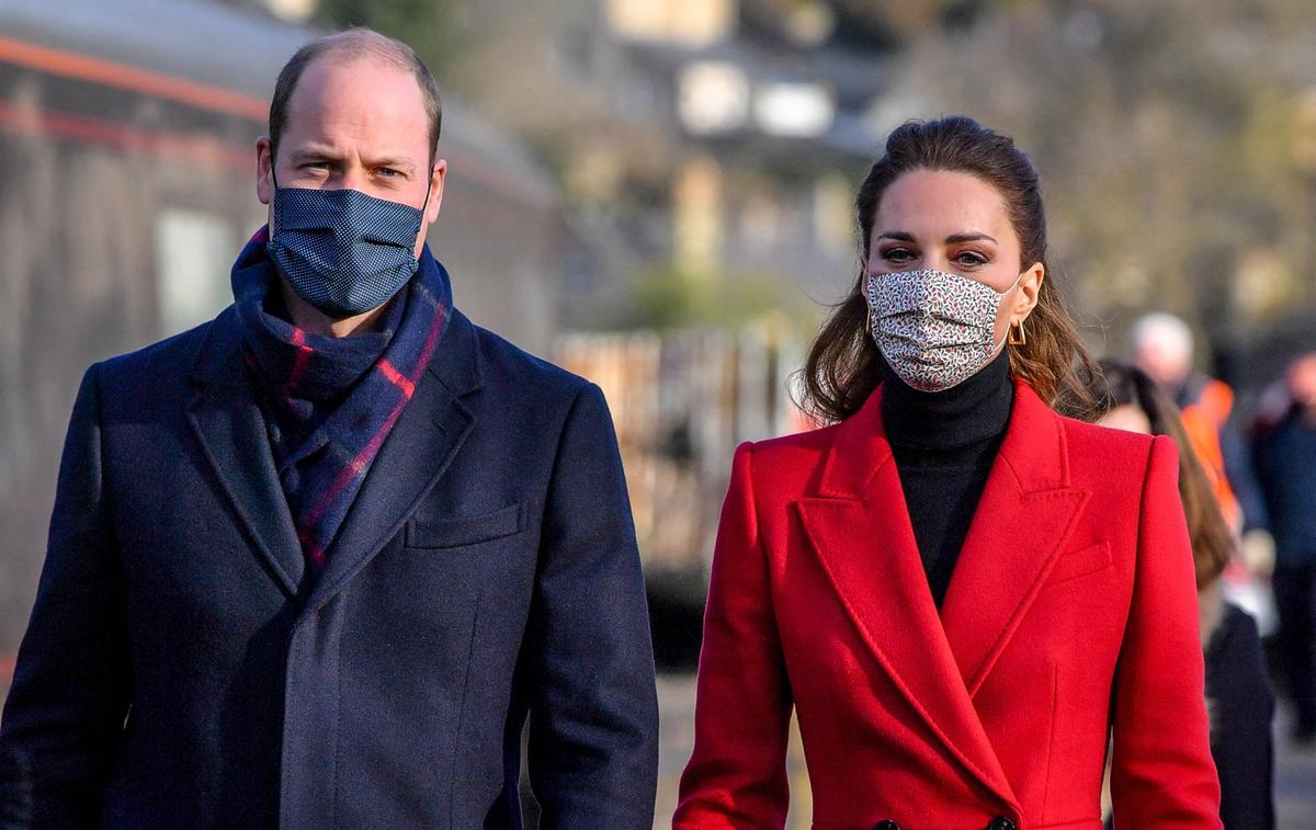 Inquiets, le prince William et Kate Middleton encouragent à la vaccination - Le Figaro