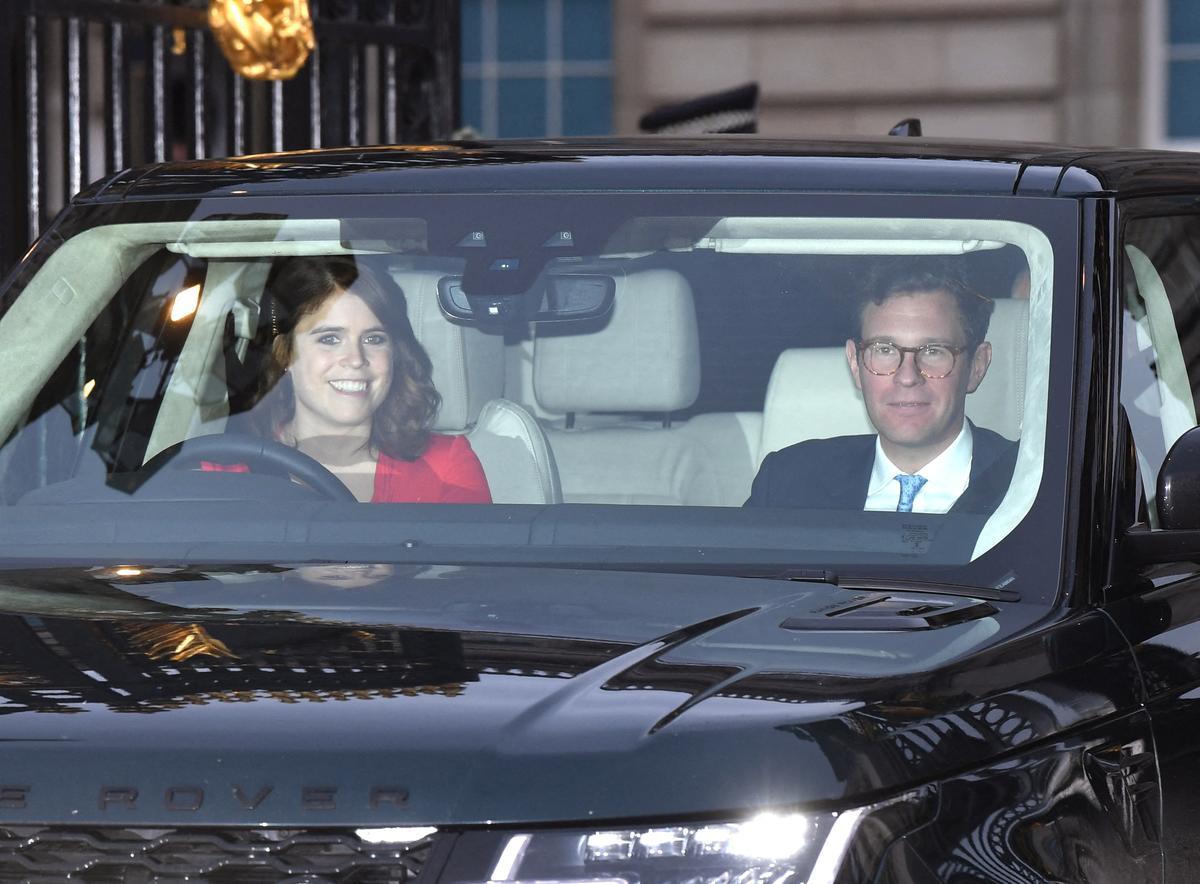 La princesse Eugenie, petite-fille d'Elizabeth II, a accouché - Le Figaro