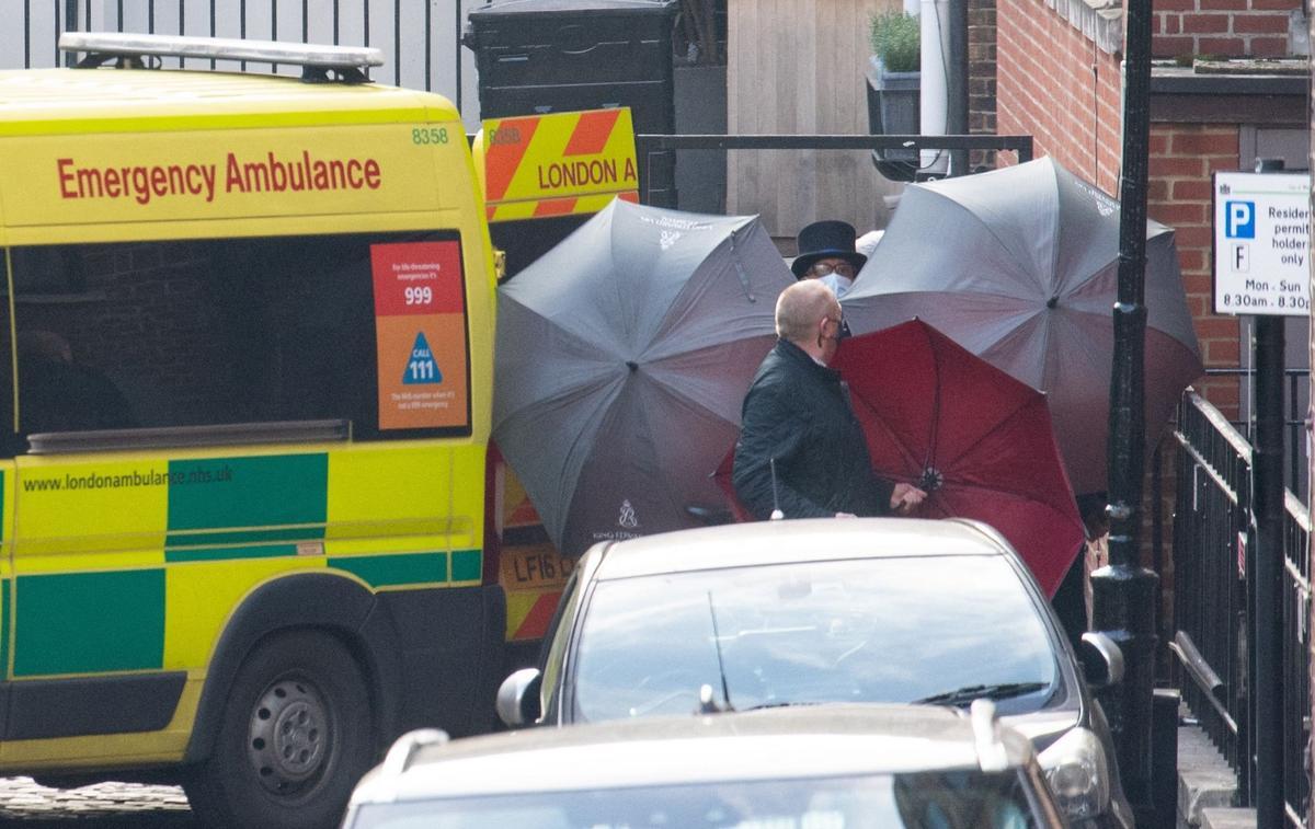 Le prince Philip a été transféré dans un autre hôpital - Le Figaro