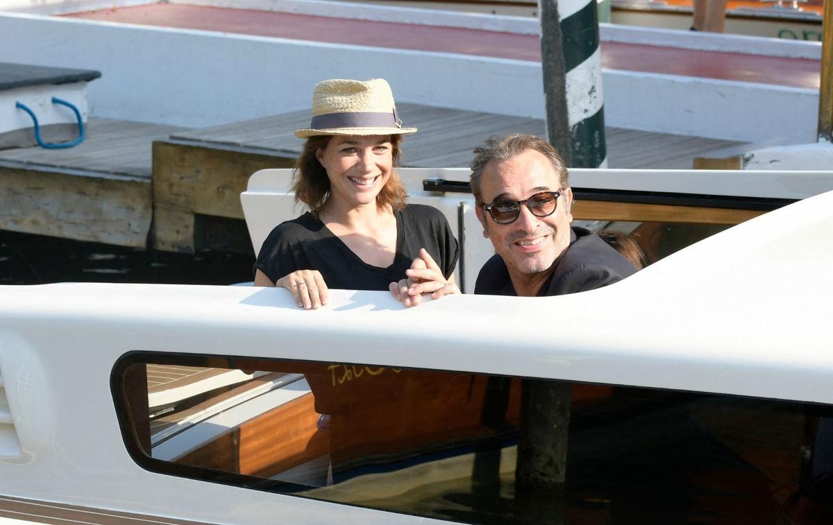 Nathalie Péchalat et Jean Dujardin ont accueilli leur nouvel enfant - Le Figaro