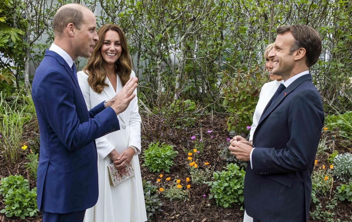 En images, les Windsor, les Macron et les Biden : royales rencontres en Cornouailles
