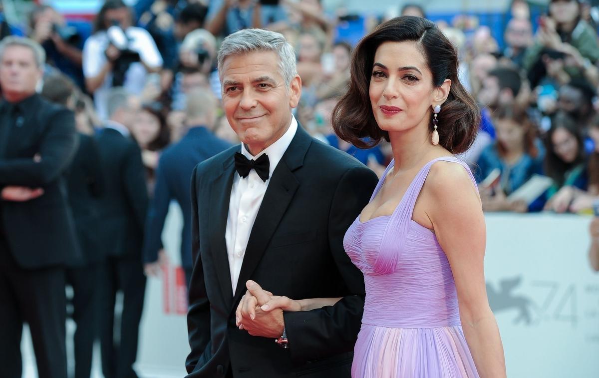 Amal Clooney serait enceinte de son troisième enfant