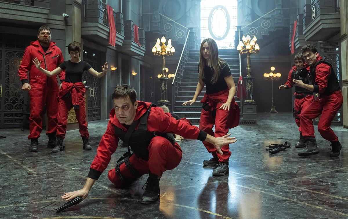 """Netflix dévoile la bande-annonce de l'ultime saison explosive de """"La Casa de Papel"""""""