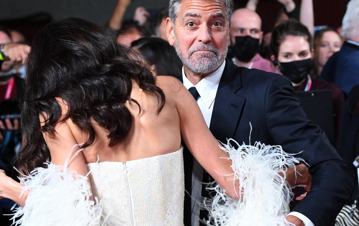L'incident de robe d'Amal Clooney sur le tapis rouge du BFI London Film Festival