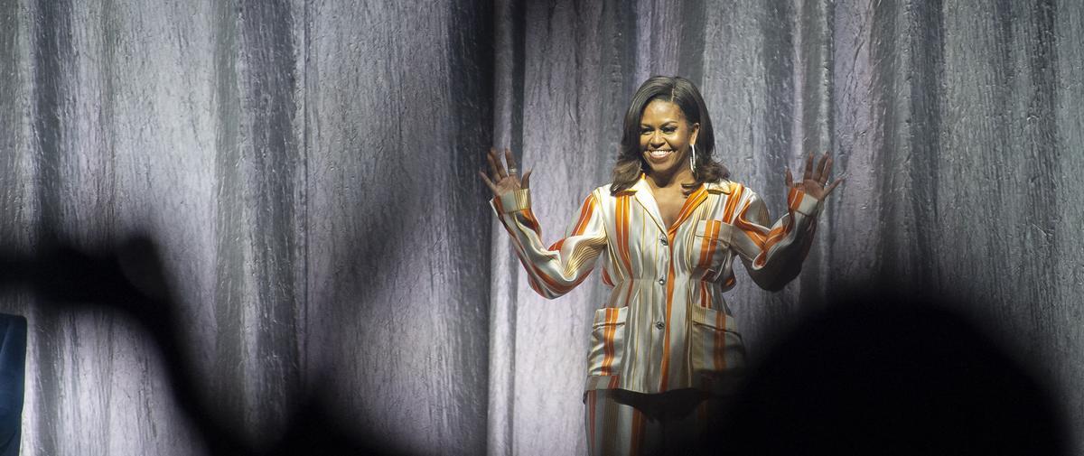 La conversation de Michelle Obama à Paris : on y a assisté