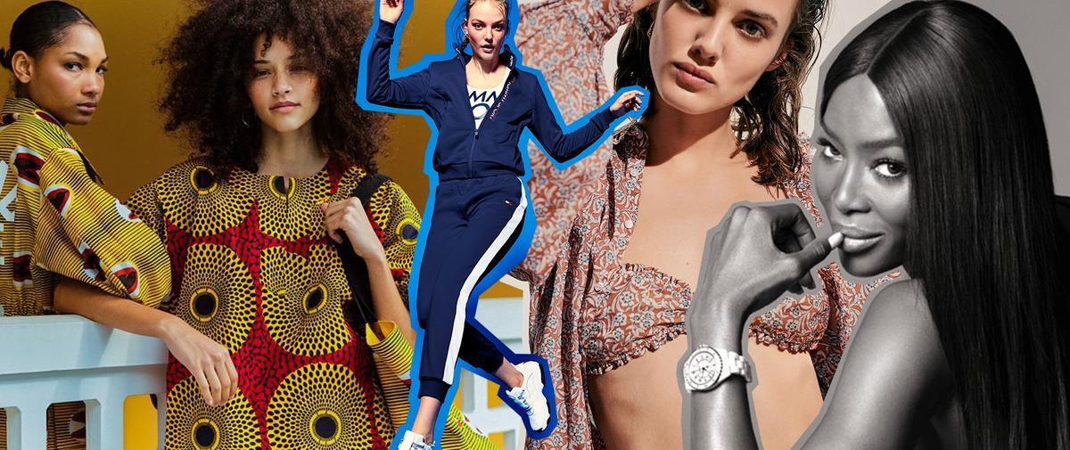 Une ligne sport Tommy Hilfiger, une nouvelle campagne de montres Chanel... L'impératif Madame