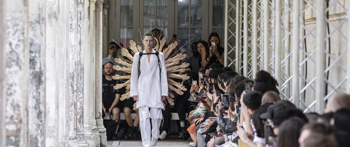 Défilé - Christian Dada - Homme printemps-été 2020