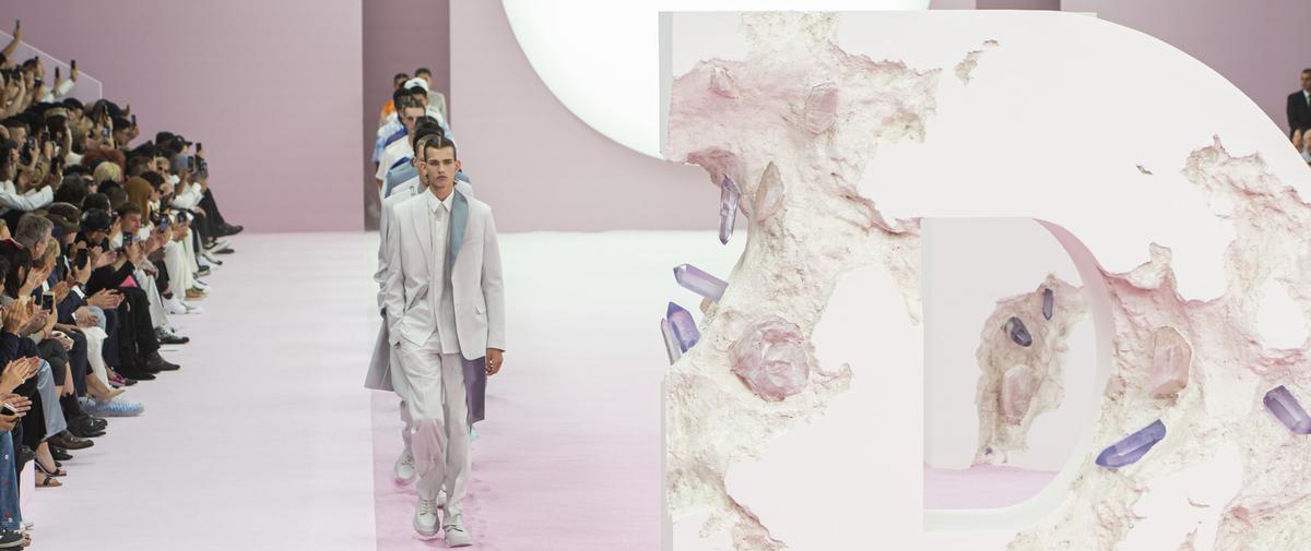 Défilé - Dior Homme - Homme printemps-été 2020