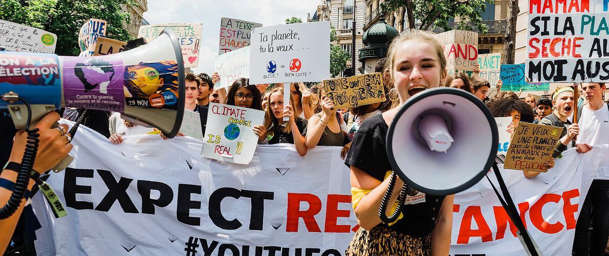 """""""Génération climat"""" : comment les 15-25 ans se mobilisent pour sauver la planète"""