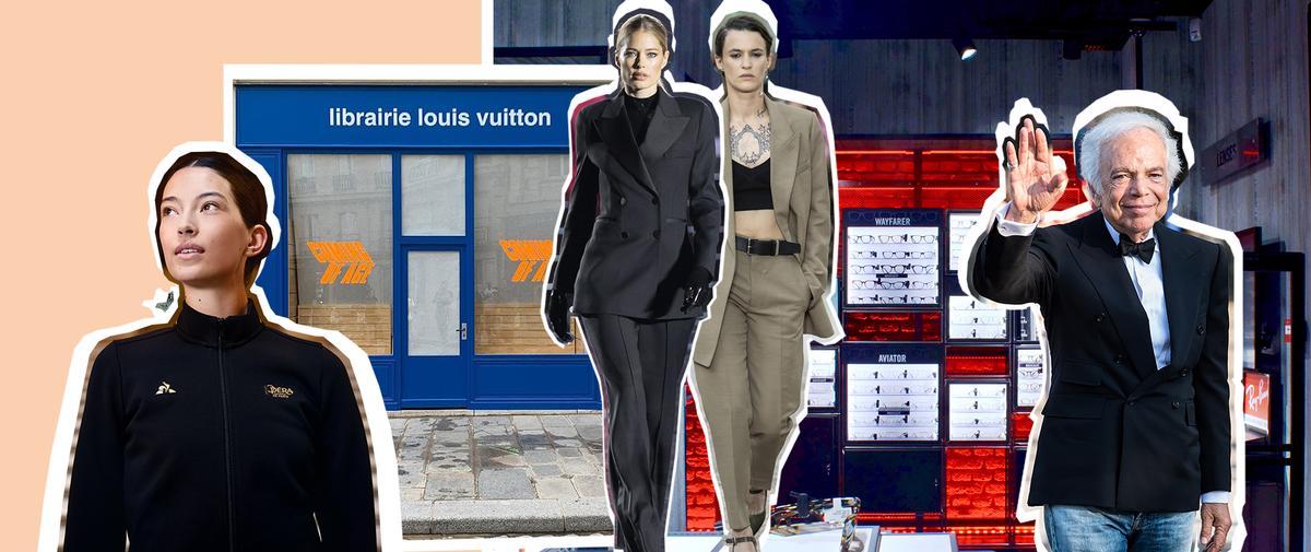 Le défilé XXL CR Runway x LuisaViaRoma, Ralph Lauren décoré, le coq sportif à l'Opéra... L'impératif Madame