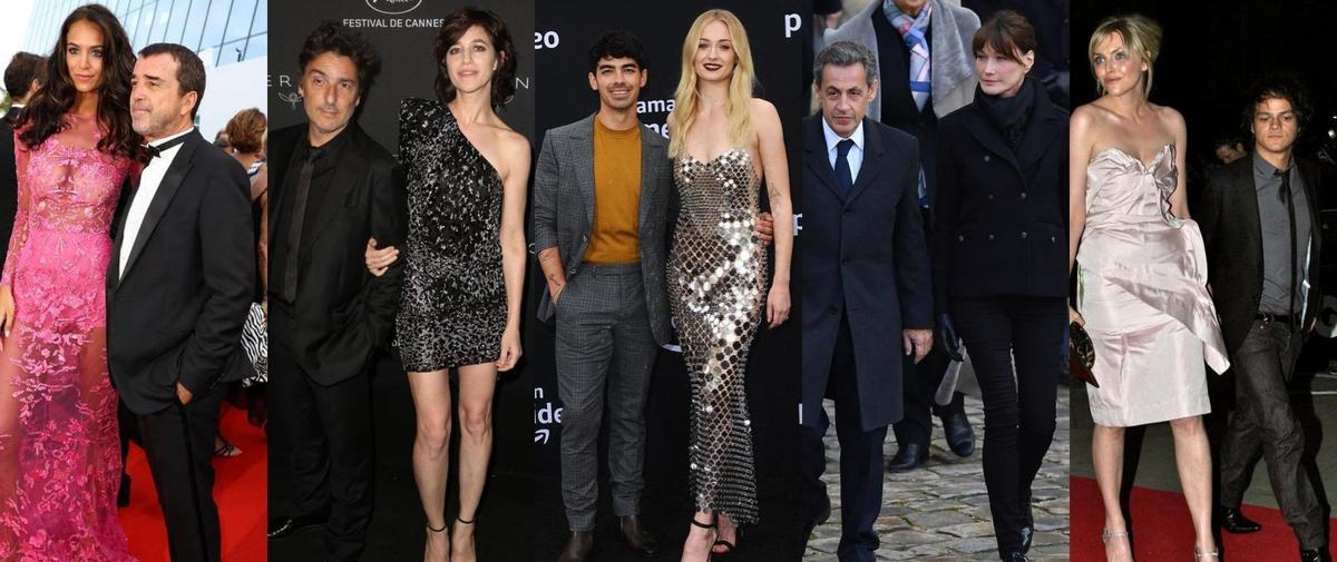 Carla Bruni-Sarkozy, Sophie Turner, Mélissa Theuriau... ces femmes plus grandes que leur mari