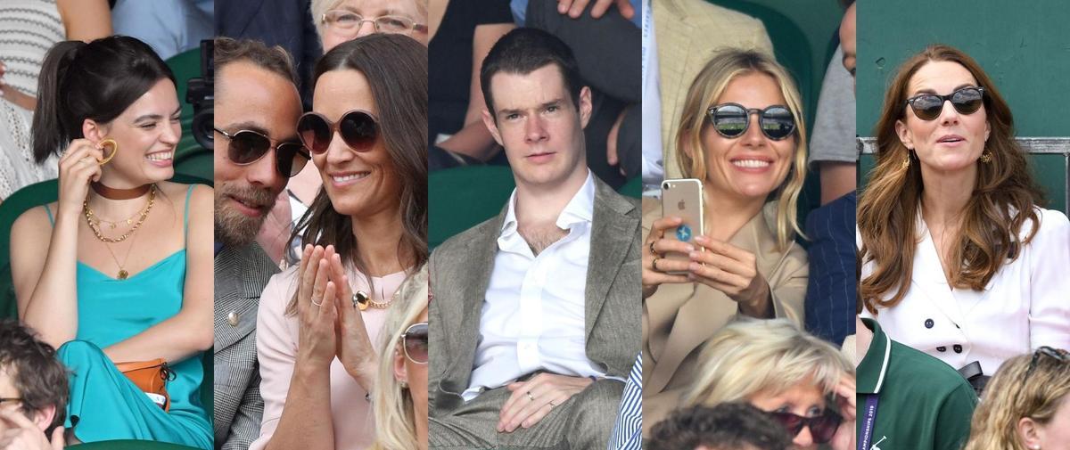 Wimbledon : battle royale et stars en goguette
