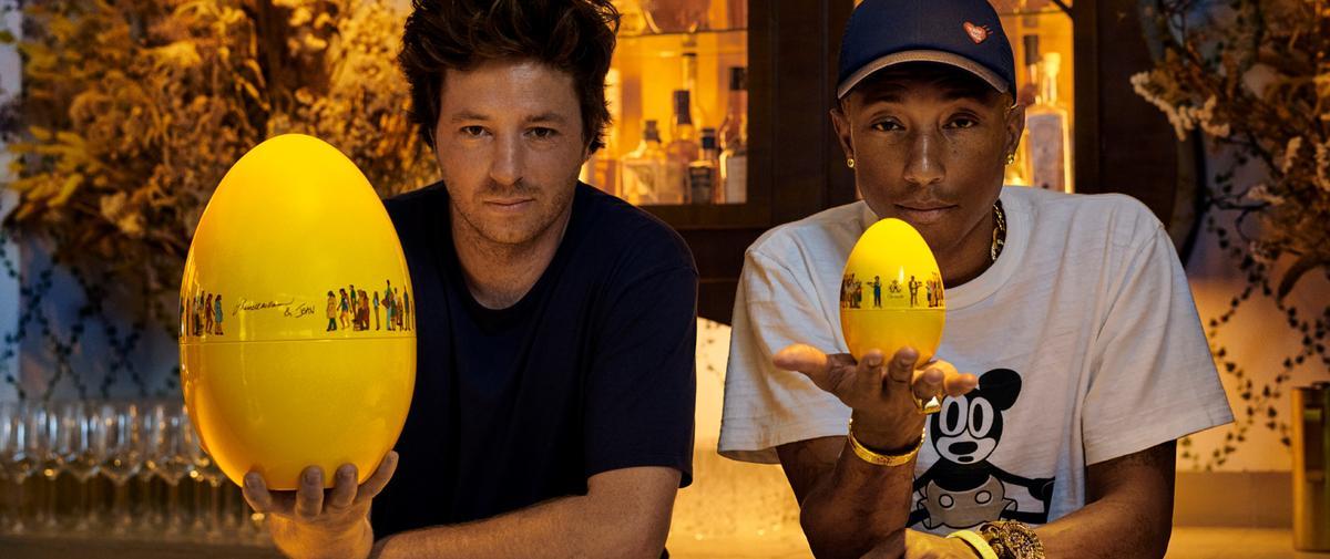 L'œuf au peps de Pharrell Williams et Jean Imbert