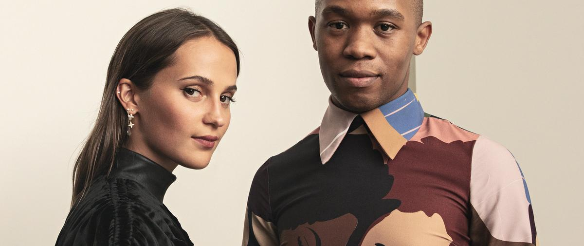 """Alicia Vikander et Thebe Magugu : """"La mode est un outil politique"""""""
