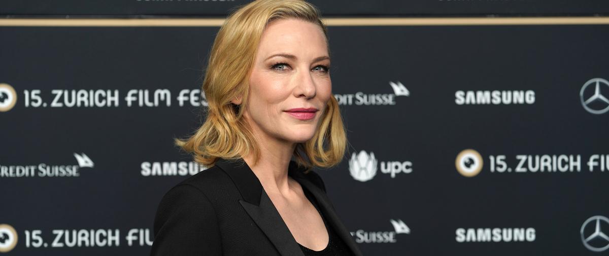 """Pour Cate Blanchett, la lutte pour l'égalité femmes-hommes est comparable à """"Un jour sans fin"""""""