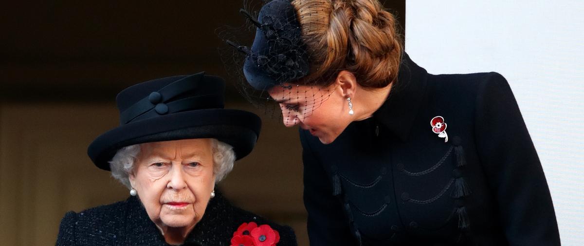 Kate Middleton, la favorite de la reine Elizabeth II