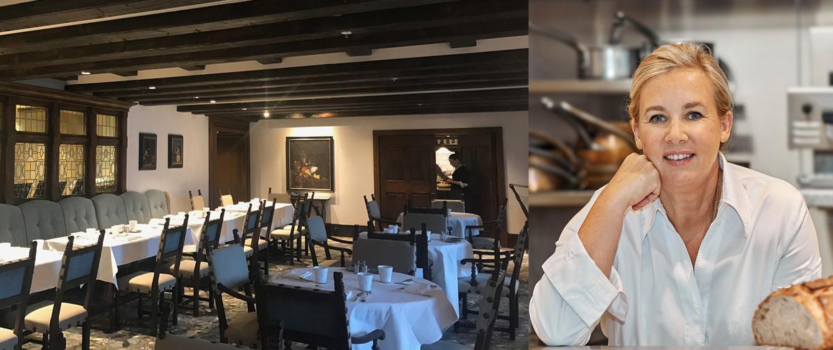 Le restaurant Jòia d'Hélène Darroze au Mademoiselle Val d'Isère, cocon luxueux les pieds dans la neige