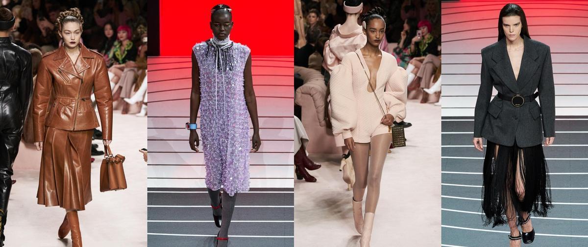 À Milan, Prada et Fendi interrogent clichés de la féminité et du pouvoir