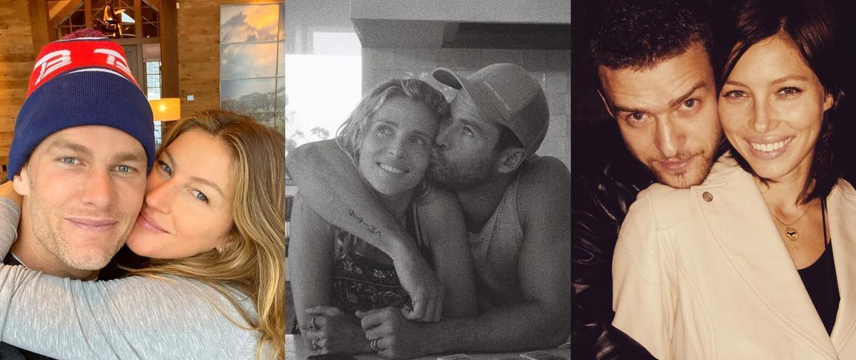 Photo vintage ou selfie d'amour : les célébrités fêtent la Saint-Valentin
