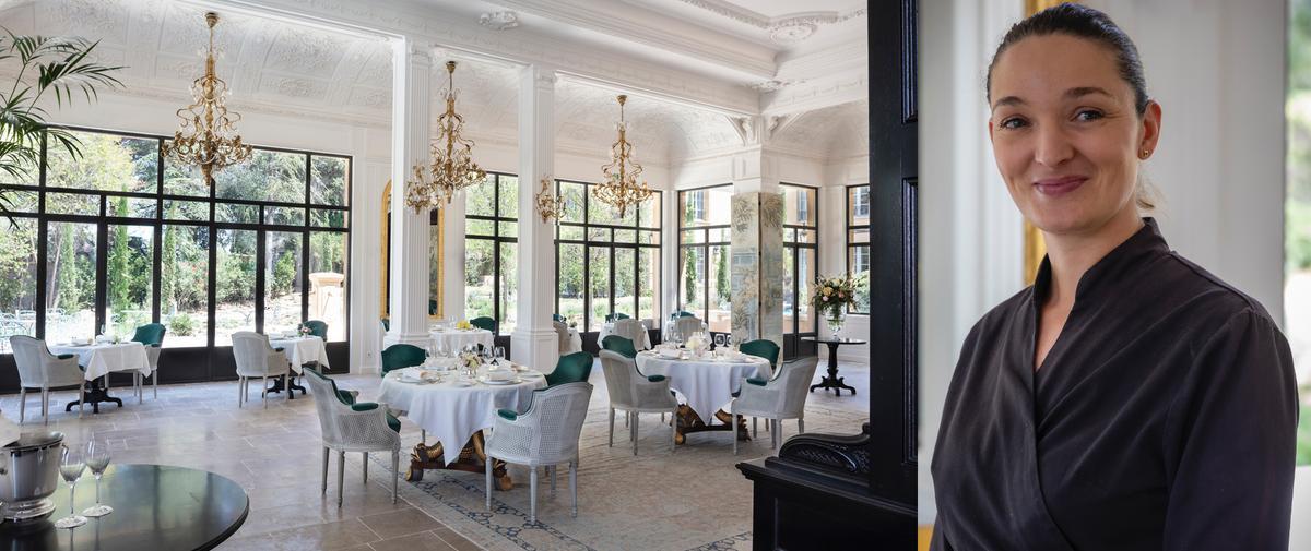 La Villa Saint-Ange à Aix-en-Provence, une table bénie des dieux