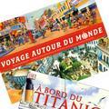 """Kif de lecture : """"À bord du Titanic"""" et """"Voyage autour du monde"""""""