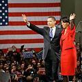 Michelle Obama, fidèle campagne