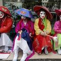 Les prostituées coréennes manifestent