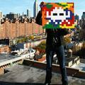 Space Invader : la tête au carrée