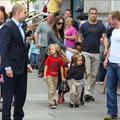 Angelina, 4 enfants, 4 bodyguards