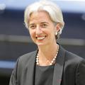 Christine Lagarde, top modèle