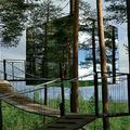 Cabanes perchées en Suède