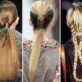 Cheveux au long court
