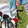 Manifestation anti-américaine à Kaboul