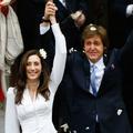 Paul McCartney juste marié