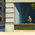 Edward Hopper, plan américain