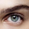 Le contour des yeux dans le viseur