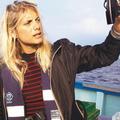 Mélanie Laurent sur le pont