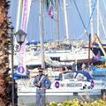 Le navire de Women on Waves bloqué à l'entrée du port de Smir